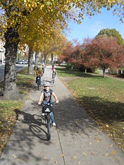 Urban AdvenTours - Emerald Necklace and Fall Foliage tour - 10.28.10 10AM