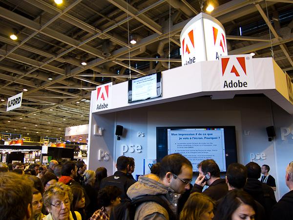 Stand Adobe ou l'entrée vers le traitement numérique
