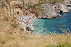 caletta (kikkedikikka) Tags: san italia mare lo sicily capo sicilia vito scopello rgspaesaggio rgscastelli rgsnatura rgsscorci ilikethenature