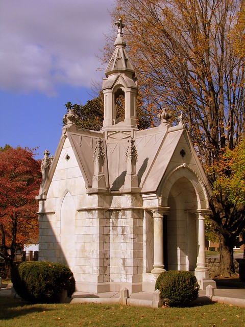 "The ""Bleeding"" Mausoleum"