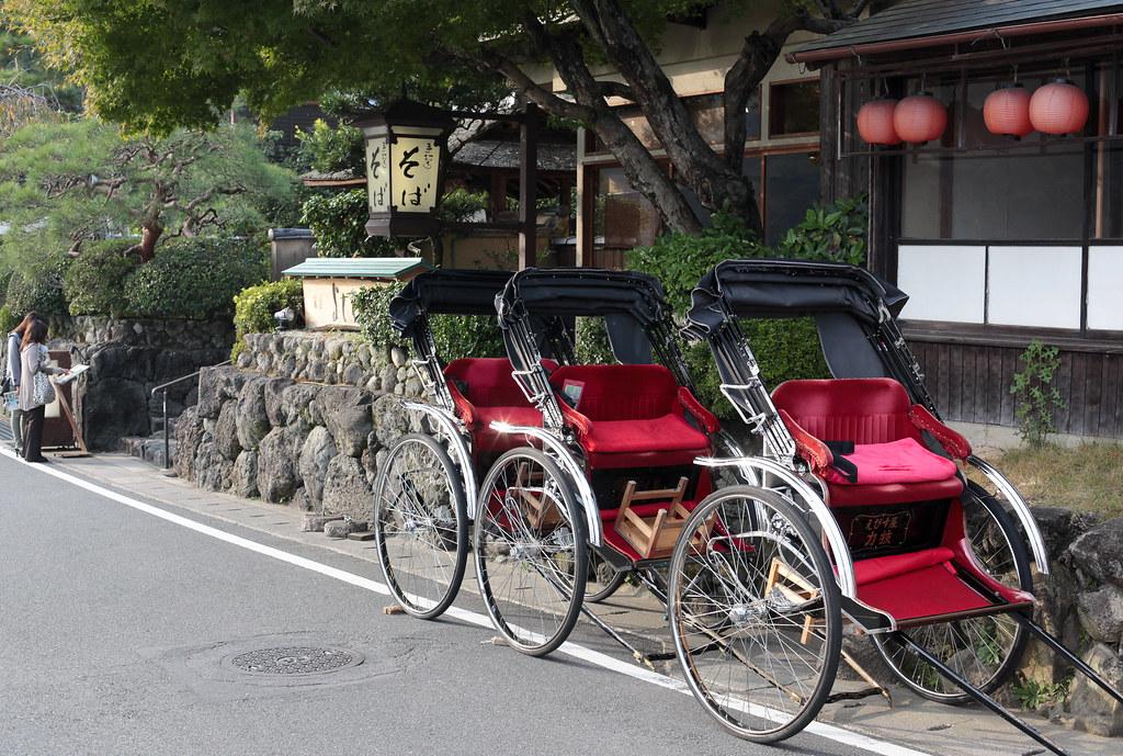 At Arashiyama
