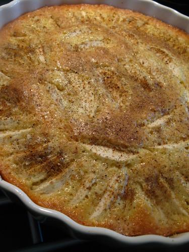 Äppelkaka med citron och kardemumma
