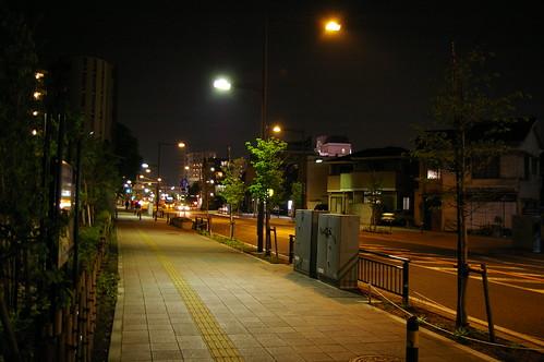 溝の口 夜景