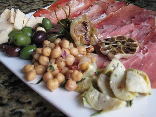 Antipasto from Mom