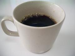入れ立てのコーヒー