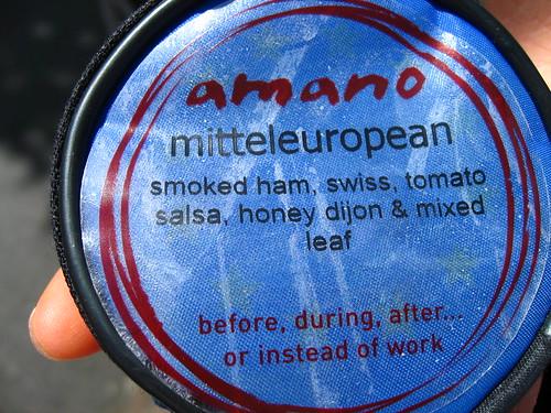Amano, Mitteleuropean sandwish