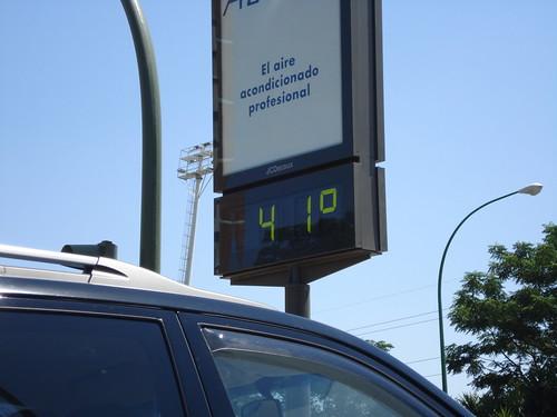 41ºC. El aire acondicionado profesional