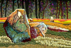 Ninestanes (tina negus) Tags: scotland digitalart megaliths stonecircle wowiekazowie ninestanes