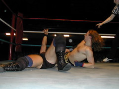 Headscissors (goldenarrow74) Tags: wrestling professional british anarchist solidgold prowrestling scottparker dougwilliams headscissors solidgoldscottparker