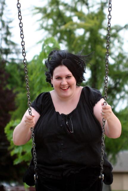 Jen is a Real Swinger