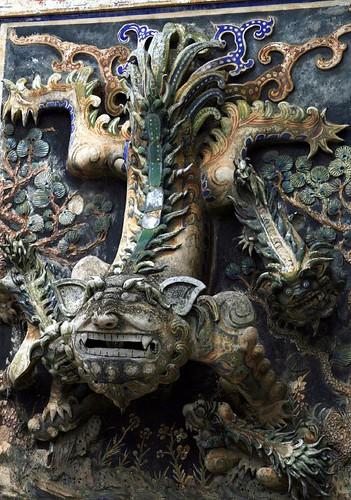 Detail, Wat Gate Khar Rnam