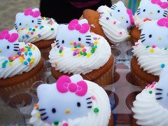 HELLO KITTY CUPCAKES (OrangeCounty_Girl) Tags: bonfire bolsachicastatebeach bolsachica beach saturday family california cali ca socal southerncalifornia usa america unitedstates orangecounty oc theoc cupcakes hellokitty sprinkles frosting icing yummy sweet kawaii cute sanrio storebought ralphs flickr pink colorful hollyclark cupcake sugary sugar desert treat kitty cake cuppie explore confetti hk funky bright hellokittycupcakes cuppy cuppers clarkholly photo photography holly clark picturephoto panasonic panasoniclumix orangecountygirl picture pic flickrjunkie pics food ate eat edible foodie yemek pagkain makanan lebensmittel