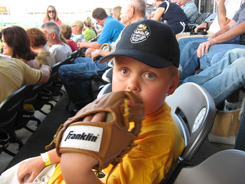 Erich at Miners Game