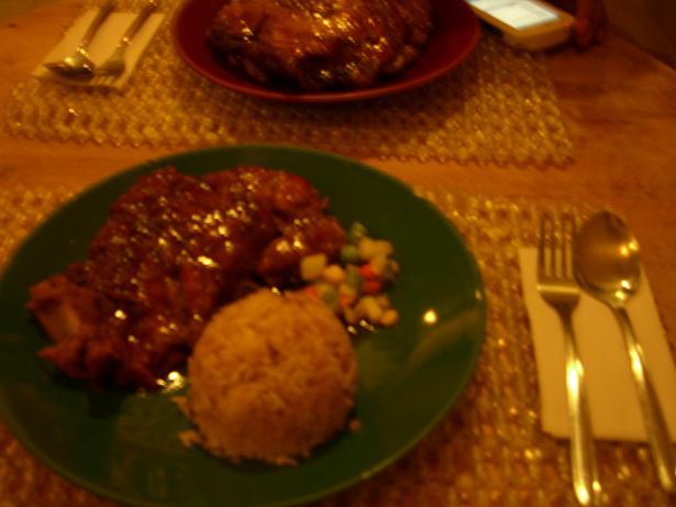 Beef Rib Rice