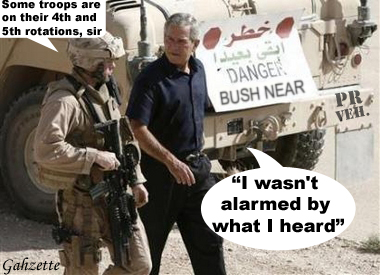 Bush Not Alarmed