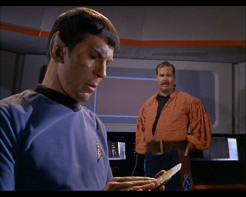 Spock with Jeppesen B-1