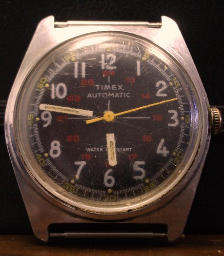 Timex 1978 24 Hour Military Project