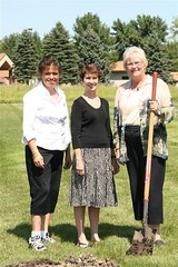 Peggy Sugheimer, Kathryn Roberts and Joyce Aakre