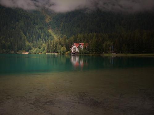 Foto Lago di Anterselva in Alto Adige Tirolo Italia