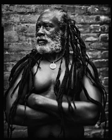 Burning Spear, in-store at Newbury Comics (Back Bay) today