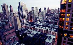 new york city evening.