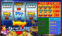No download Seven Oceans Online Slot Machine