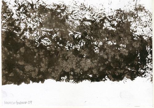 Black Felt Landscape I