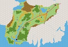 Eberron Hex Maps