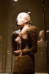 Persian Woman in the Course of History; Unbaked Clay Bust (Ali Majdfar) Tags: museum ancient women iran persia exhibition    hisory  canoneos5dmarkii gettyimagesmiddleeast