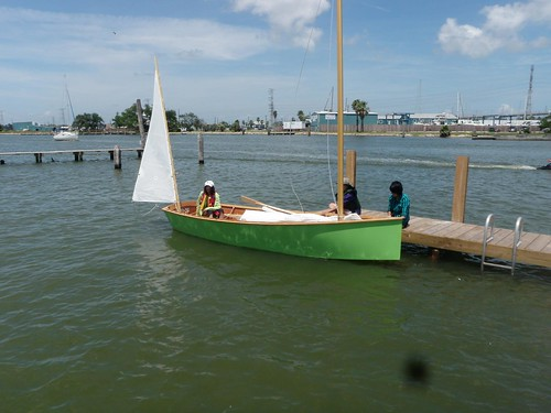 John's Texas Goat Island Skiff built from a kit.