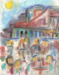LEFT BANK CAFE...wine and coffee in Monmartre, pastel by R.L. Huffstutter (roberthuffstutter) Tags: paris art beach japan midwest liquor alcohol expressionism impressionism americana venicebeach beatniks watercolors cocktails sketches leftbank picnik vino penandink photogallery outdoorcafes hotoffthepress galleryphotos photogalleries galleryphoto huffstutter roberthuffstutter coffeeandconversation huffstuttersart robertlhuffstutter contemporaryimpressionism impressionismart robertsgallery originalsavailable staythirstymyfriend impressionismgenre monmartrelate70s pariswine vinocafeparis parisiancoffee impressionisticworks impressionisticpastels assortedmixedmedium huffstuttersimpressionistgallery galleryofimpressionistart expressionismandimpressionism impressionistportfolio studyingimpressionism bobhuffstutter artandorphotosbyhuffstutter
