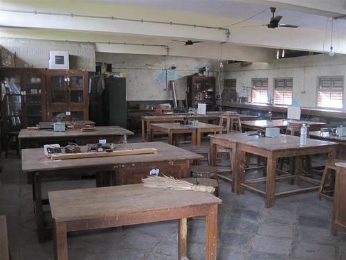 Physics lab classroom