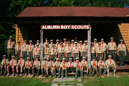 Heading to Boy Scout Camp