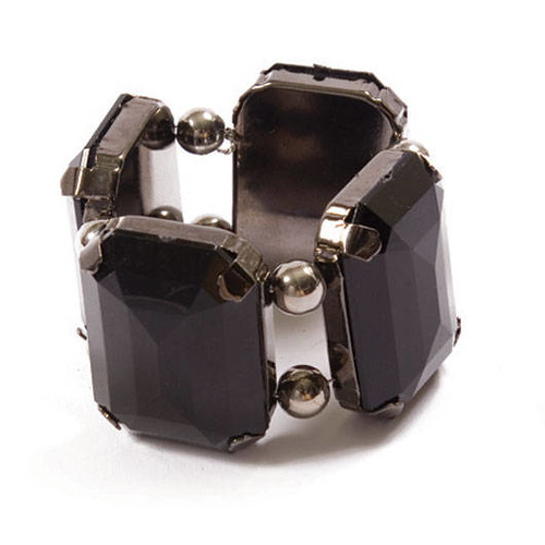FF_black gem napkin ring_kim seybert