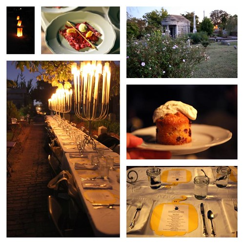 Oakland cemetery - for food's sake - secret dinner
