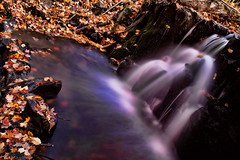 Arvon Waterfall (SPP - Photography) Tags: autumn fall waterfall fallcolors autumncolors waterfalls spp baragacounty arvon topazadjust topazdenoise photoshopelements80 sppphotography