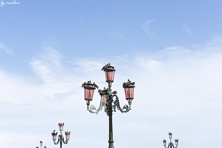 lanterns on the Piazza San Marco