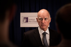 Governor Jerry Brown, arts supporter