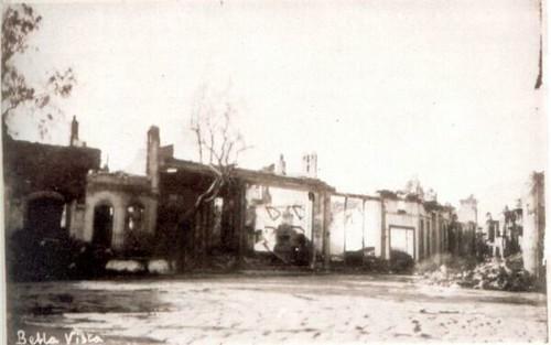 Yangından sonra Bella Vista