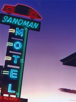 Sandman Motel, U.S. 40, Reno, Nevada - Jeff Brouws