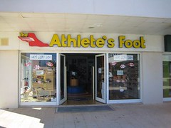 portugal (chillwiththegwil) Tags: portugal trainers pun shopsign athletesfoot