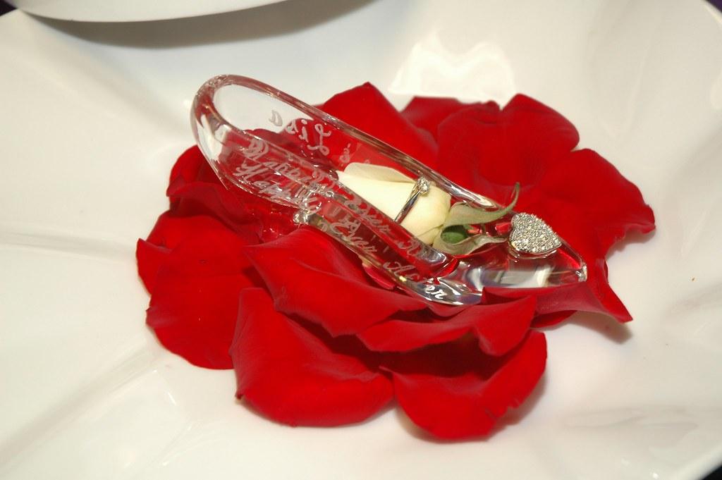 Cinderellas Glass Slipper Cinderella's Royal Tab...