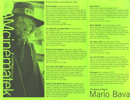 Mario Bava: The Barron of Blood