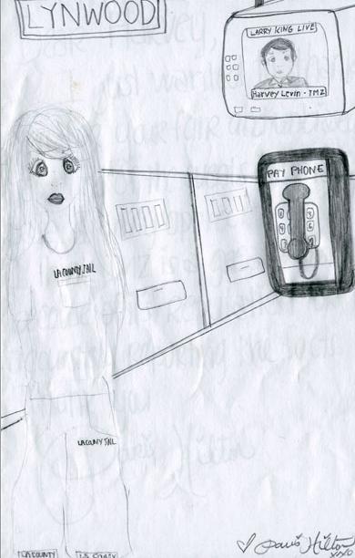 Paris Hilton's sketch