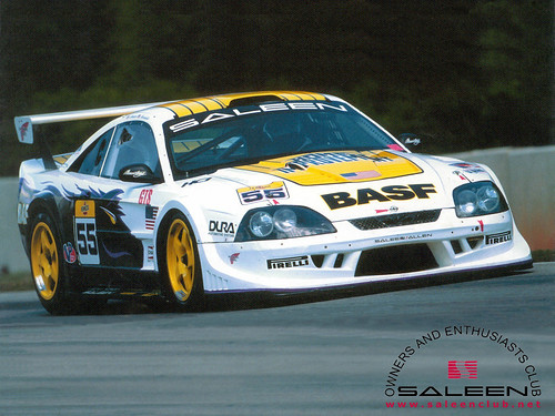 racing cars wallpaper. Saleen SR Race Car Wallpaper