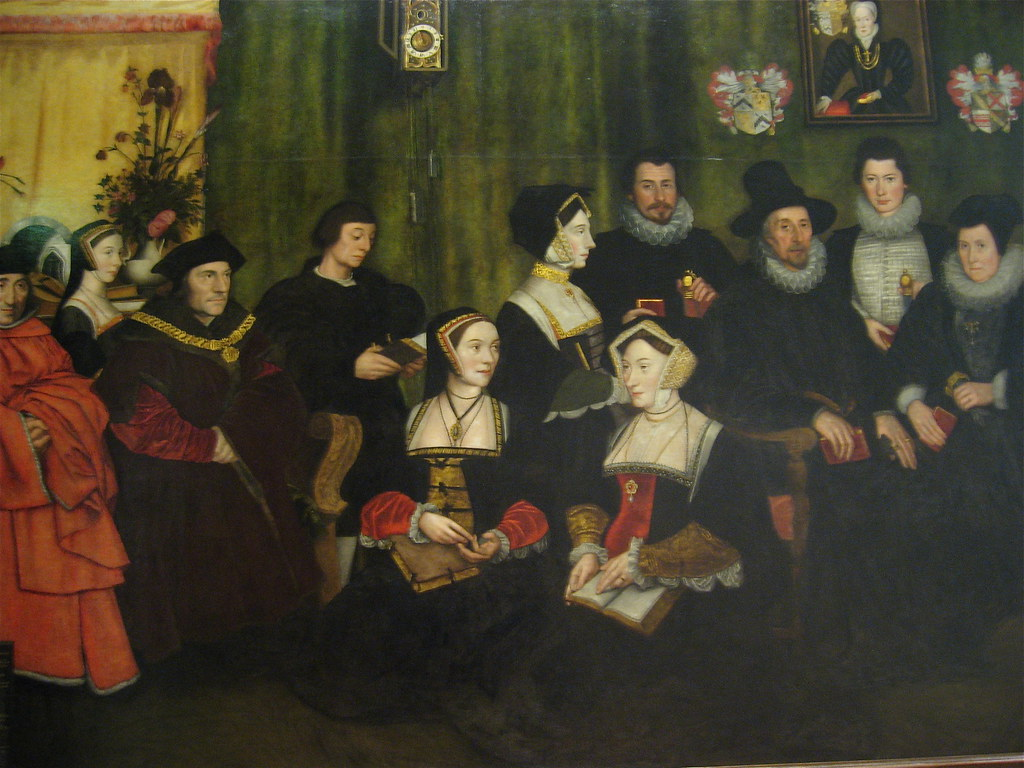 The Family of Thomas More by Hans Holbein