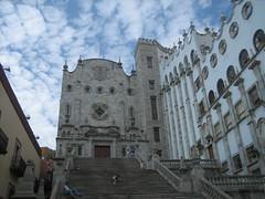 """Guanajuato State University"" (Bojorchess) Tags: building architecture stairs facade mexico arquitectura university edificio universidad guanajuato escaleras bojorchess"