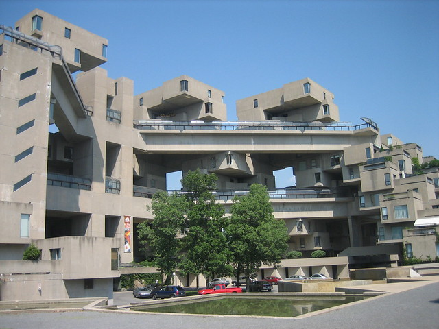 Habitat 67 East Entrance