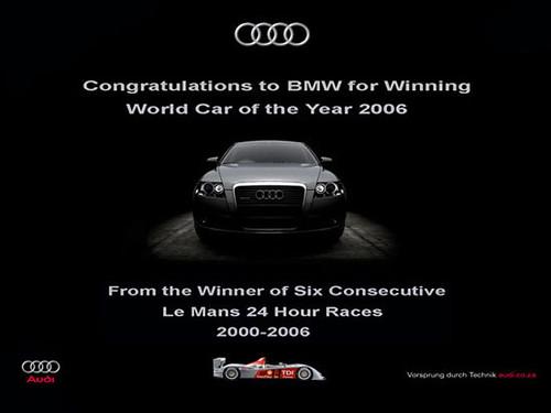Audi Advertisement