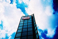 good old lomo sky (lomokev) Tags: blue sky building berlin tower architecture clouds lomo lca xpro lomography crossprocessed xprocess db lomolca hauptbahnhof trainstation deutschebahn agfa jessops100asaslidefilm agfaprecisa lomograph agfaprecisa100 cruzando berlinhauptbahnhof precisa jessopsslidefilm file:name=070727lomolcaplus12